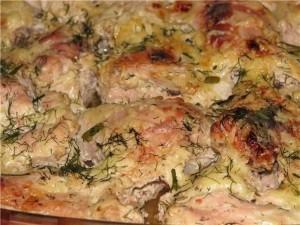 кефирный маринад, куриные бёдра